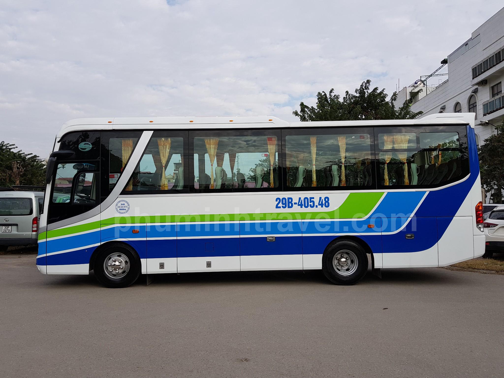 Phú Minh cho thuê xe 35 chỗ đi lễ hội